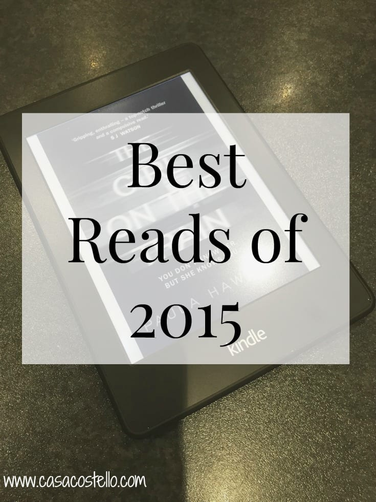 Best Reads Book Reviews 2015
