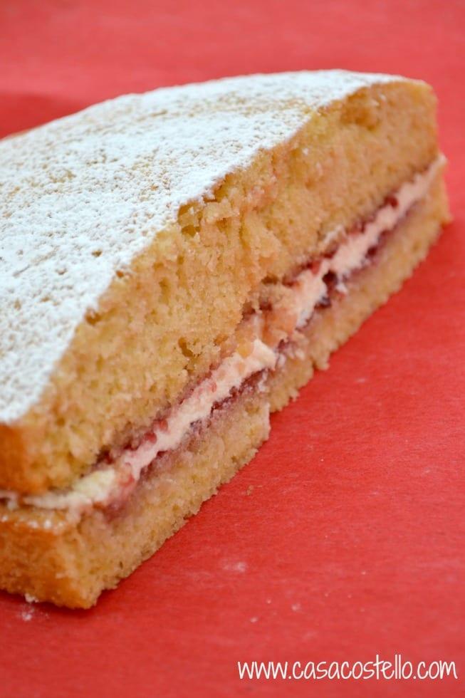Classic Victoria Sponge Cake Recipe Casa Costello