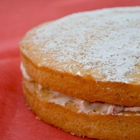 A Very Special Victoria Sponge #Bakeoftheweek