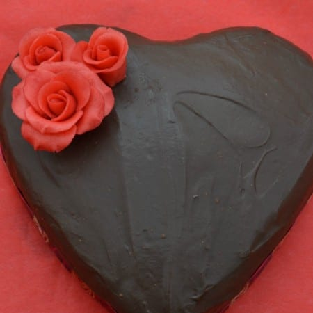 Easy Valentine's Chocolate Cake Recipe Casa Costello