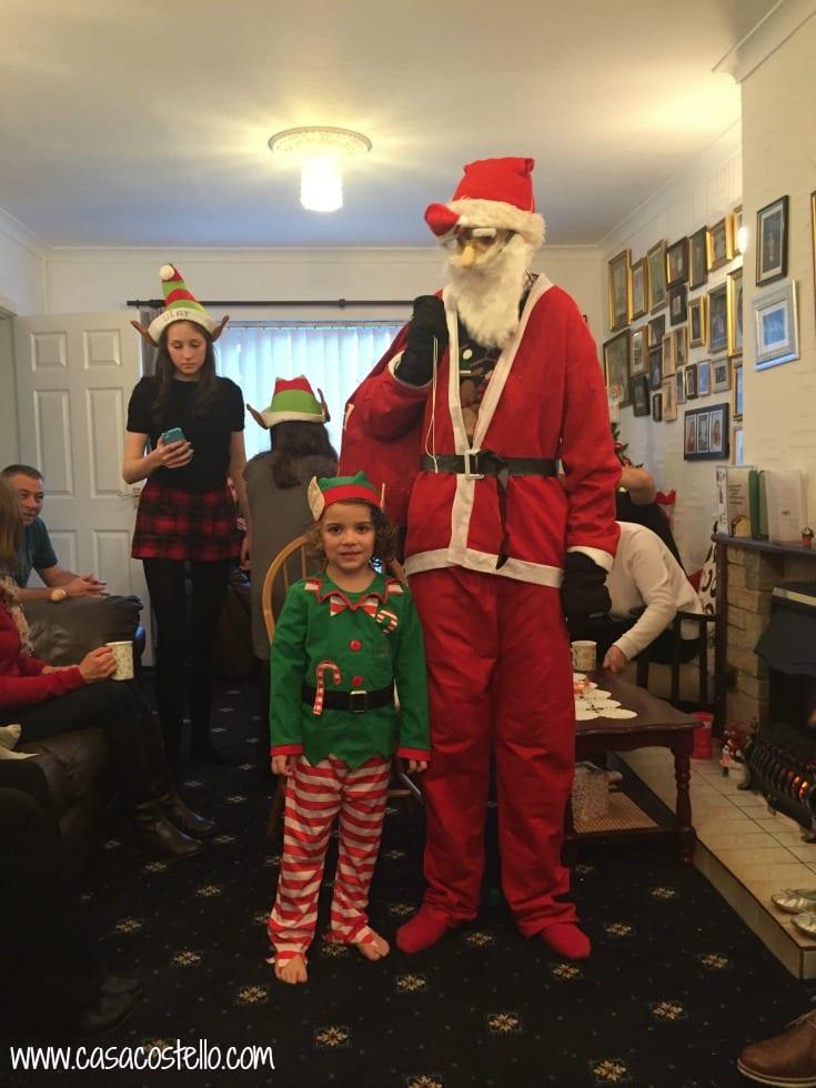 Father Christmas & Tara
