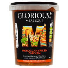 GLORIOUS Moroccan Spiced Chicken Soup