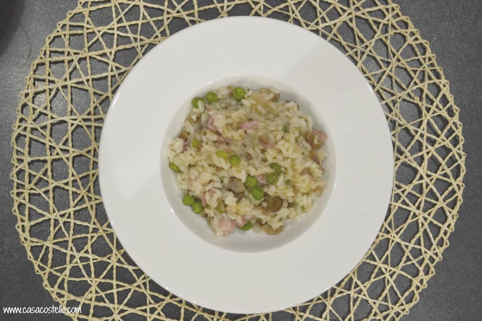 Ham, Chestnut & Maple Risotto