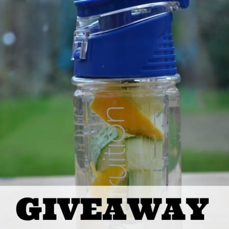 Infruition Water Bottle Review & Giveaway