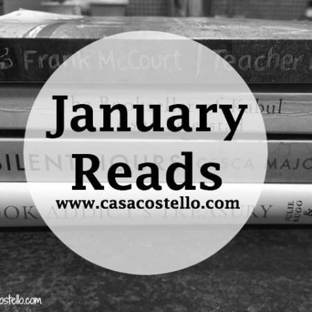 January Reads Books 2016
