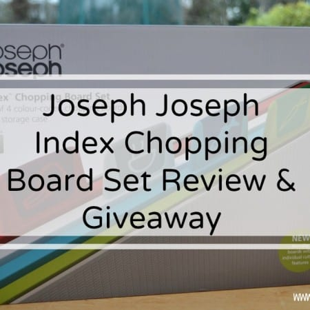 Joseph Joseph Chopping Boards Set Review & Giveaway