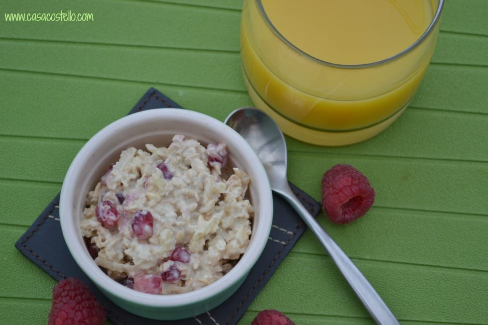 Pomegranate Bircher Muesli