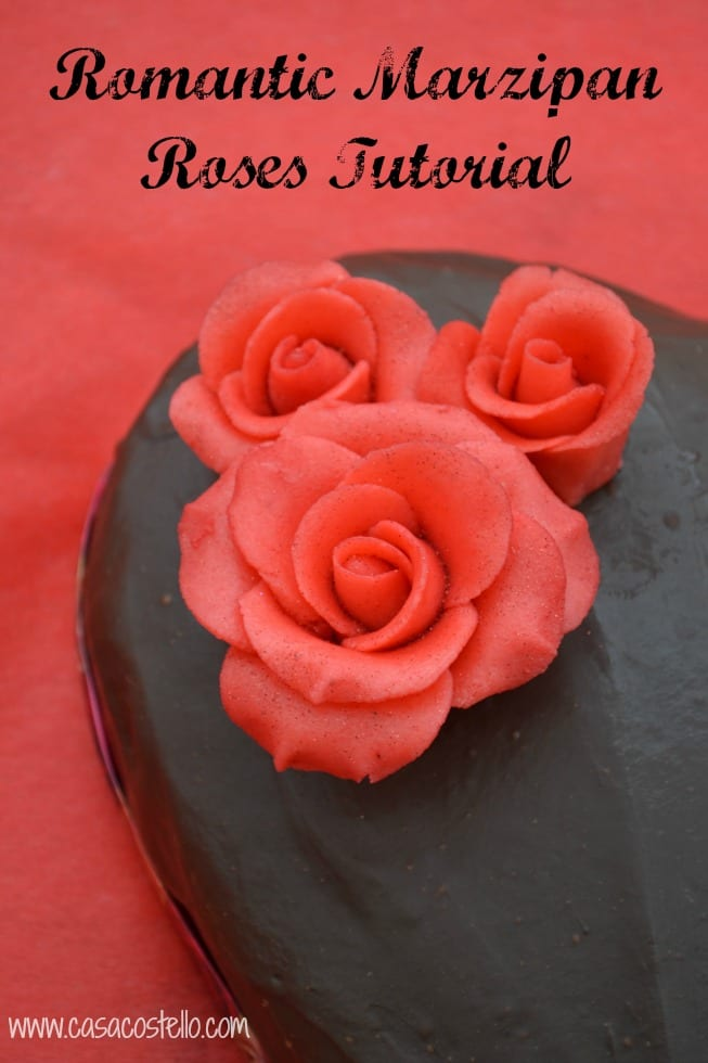 Romantic Marzipan Roses Tutorial Casa Costello