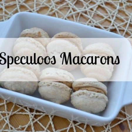 Speculoos Macarons Bake of the Week