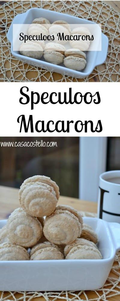 Speculoos Macarons Lotus Biscuits