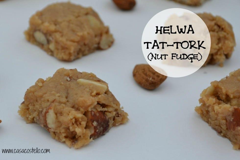 Helwa Tat Tork Nut Fudge