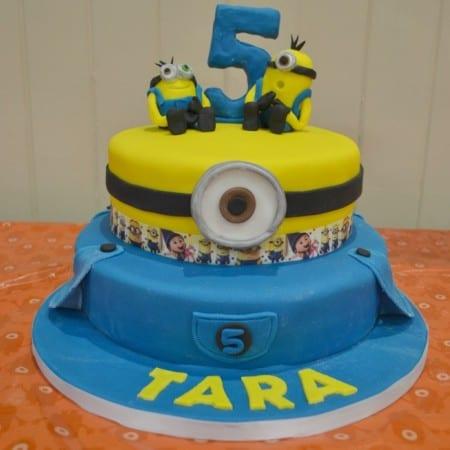 Minion Birthday Cake – Bake of the Week