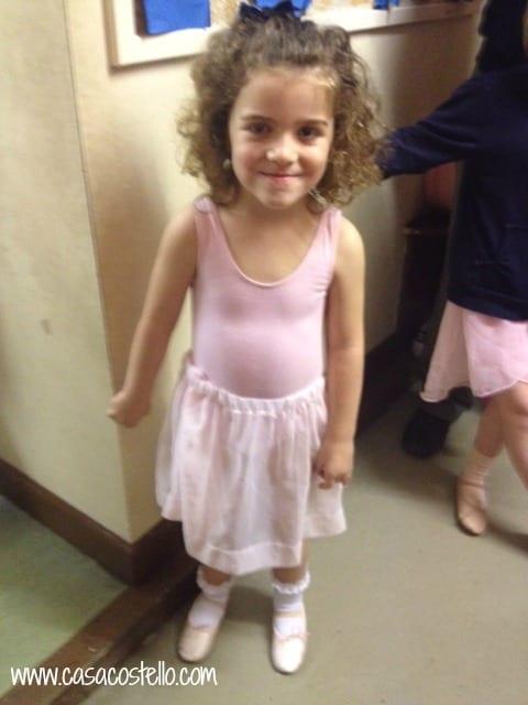 Tara starting ballet