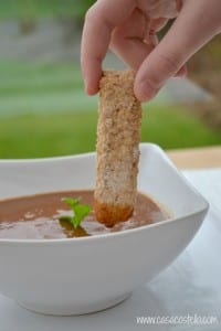 Wholemeal Soda Bread Dipping Sticks