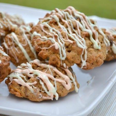 Carrot Cake Cookies #Bakeoftheweek