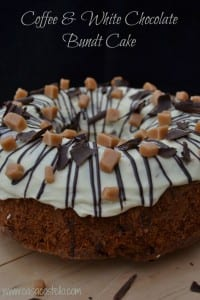 Coffee White Chocolate Bundt Cake