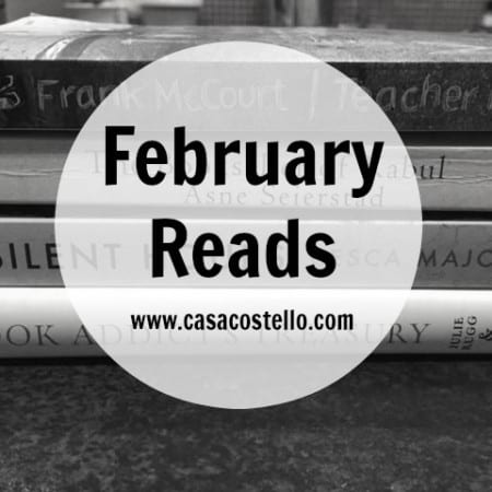 February Reads & #WorldBookDay