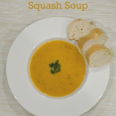 Glorious New England Butternut Squash Soup