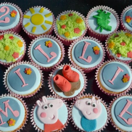 Peppa Pig Cupcakes Selection