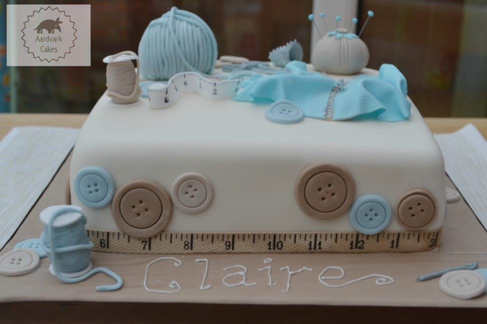 Sewing Craft Lover's Cake