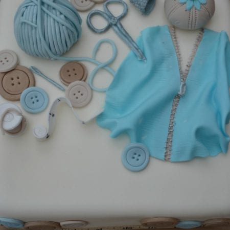 Sewing Lover's Cake #BakeoftheWeek