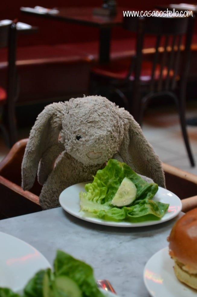 Salad at Cafe Rouge