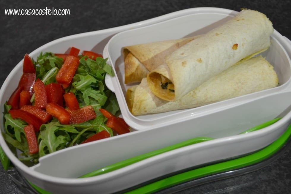 Chicken, Cheese, Rocket Falutas Tortilla Picnic Wraps