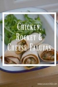 Chicken, Rocket & Cheese Falutas