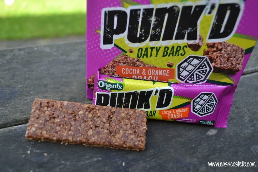Punk'd Oaty Cereal Bars