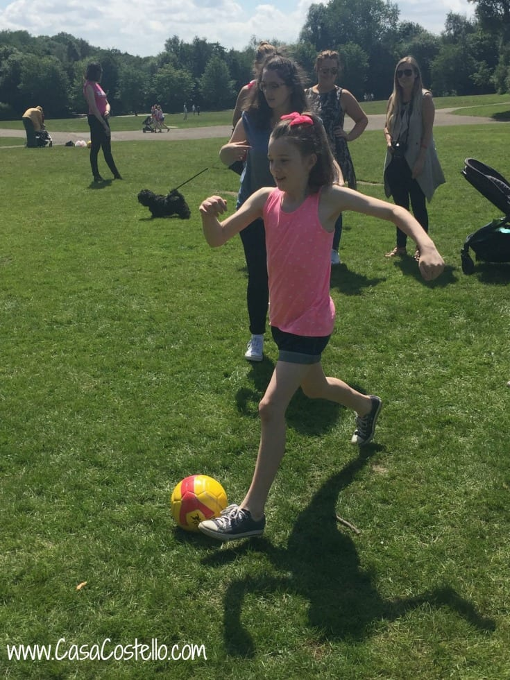 Violet football #Hellogoodtimes