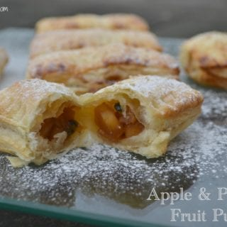Apple Passion Fruit Puffs Filling