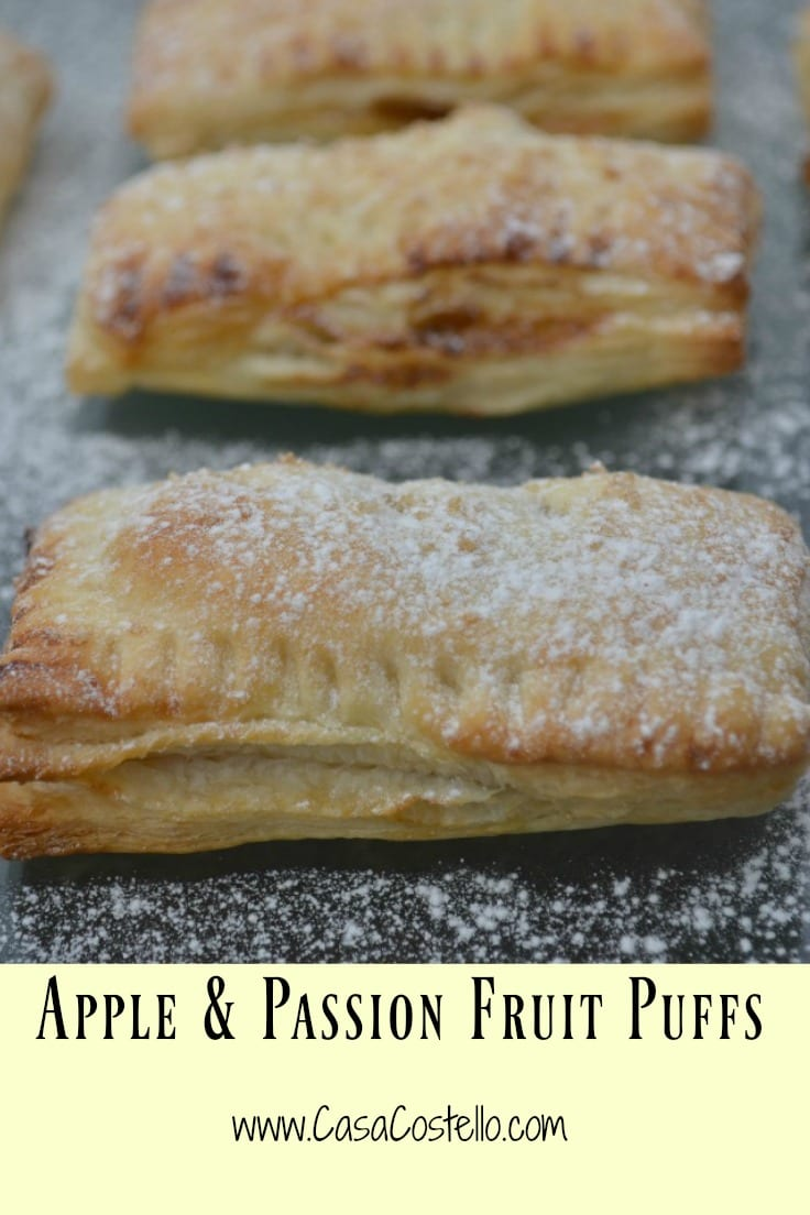 Apple Passion Fruit Puffs