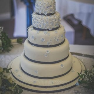 Forget-Me-Not Wedding Cake – Bake of the Week