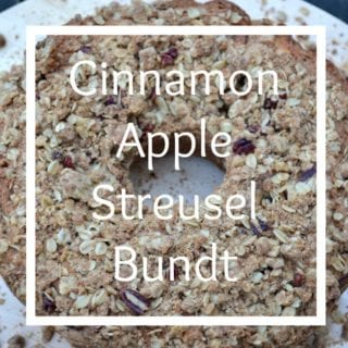 Apple Cinnamon Streusel Bundt – Secret Recipe Club