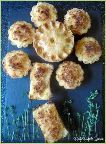 Mock Tudor Vegetarian pies