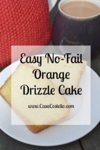 Orange Drizzle Cake (Double batch)