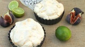 Mini Cherry Lime Meringue Pies