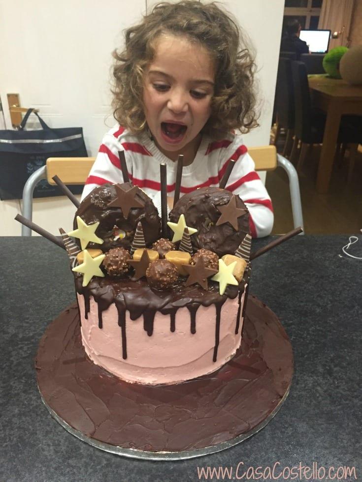 Children's Drip Birthday Cake