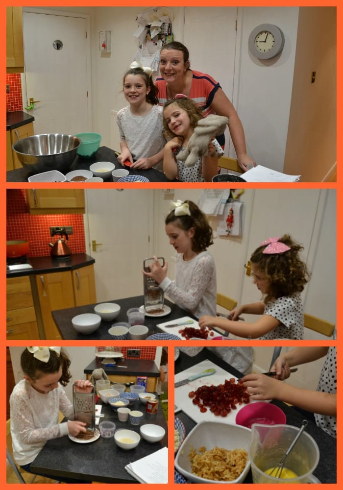 Cooking with kids Christmas Pudding Stir Up Sunday