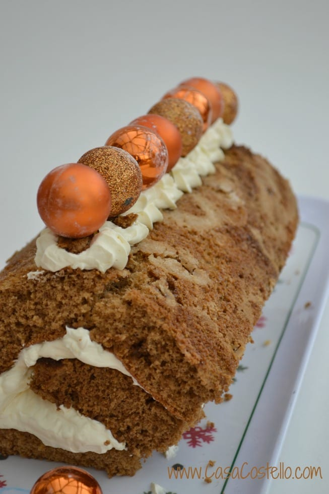Gingerbread Christmas Roulade
