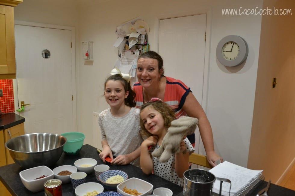 Making our Christmas Pudding