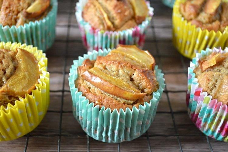 Easy Gingered Pear, Almond & Honey Cakes