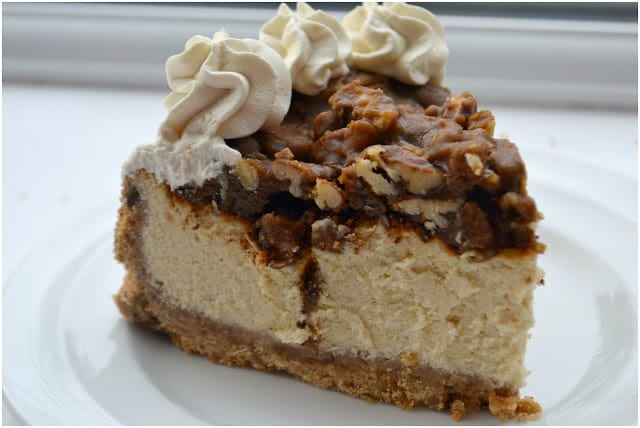 Vanilla Pecan Pie Cheesecake