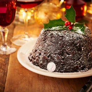 Christmas Food Preparation – The Christmas Pudding with The Royal Mint #ad