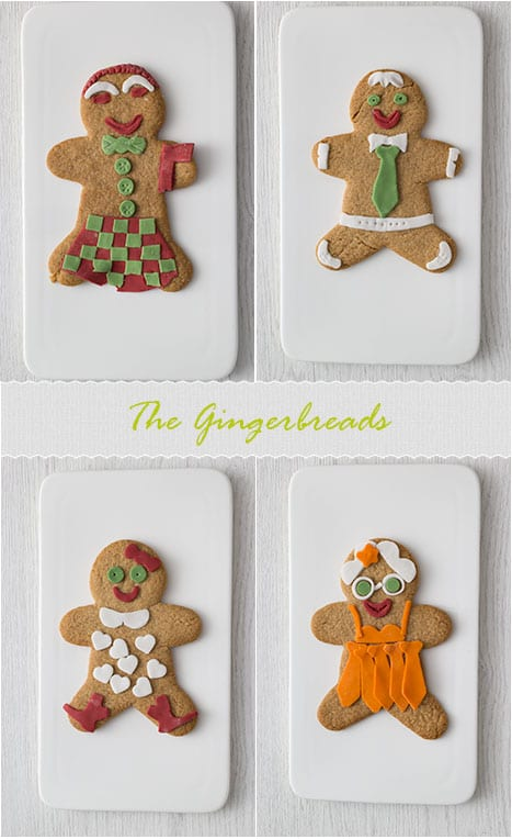 Christmas Gingerbread Men