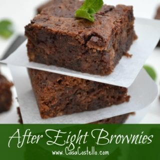 After Eight Brownies #BakeoftheWeek