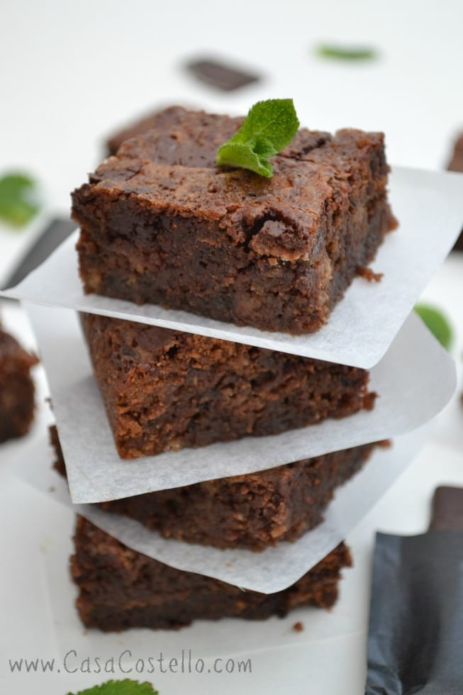After Eight Brownies Easy Recipe