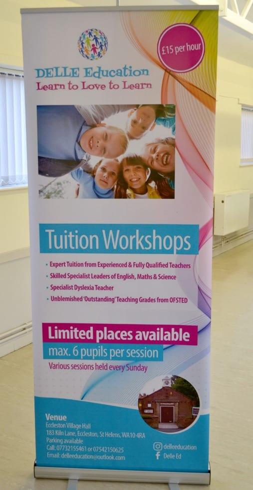 Delle Education banner