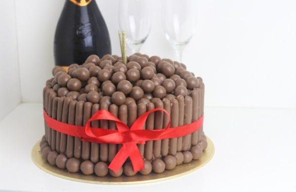 Malteser Chocolate Fingers Cake