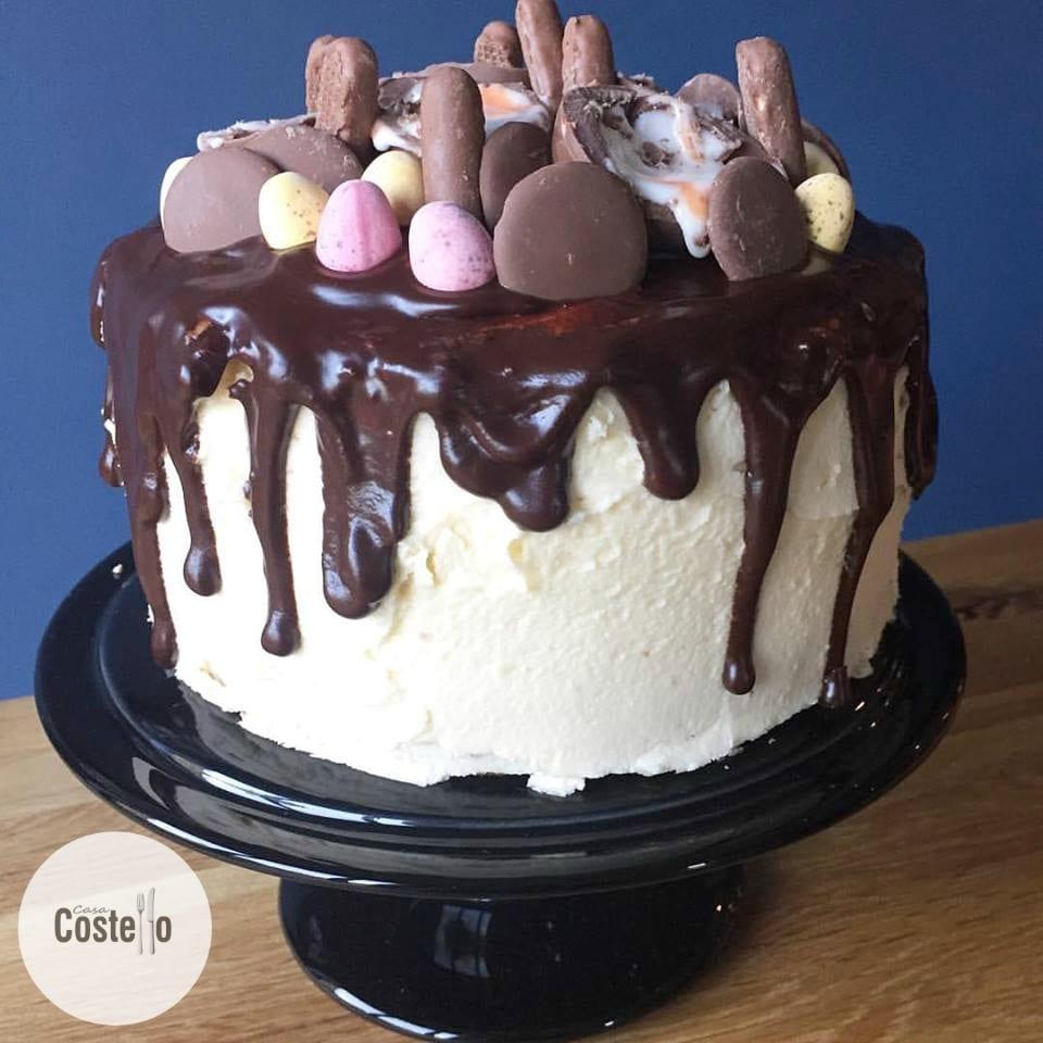 Mega Chocolate Drip Cake